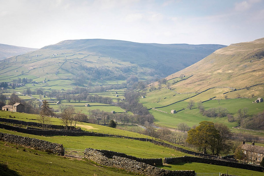 Upper Swaledale in the Yorkshire Dales. Photo: Bob Smith/grough