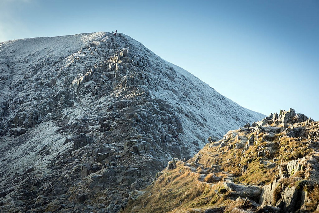 Swirral Edge, one of the two main eastern ridge approaches to Helvellyn's summit. Photo: Bob Smith/grough