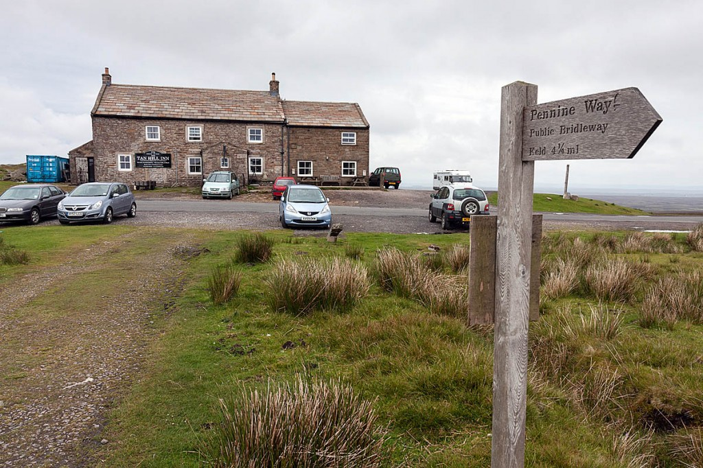 Mr Harvey was brought to the Tan Hill Inn after heading towards Keld. Photo: Bob Smith/grough