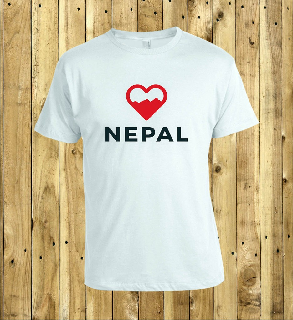 The Love Nepal t-shirt