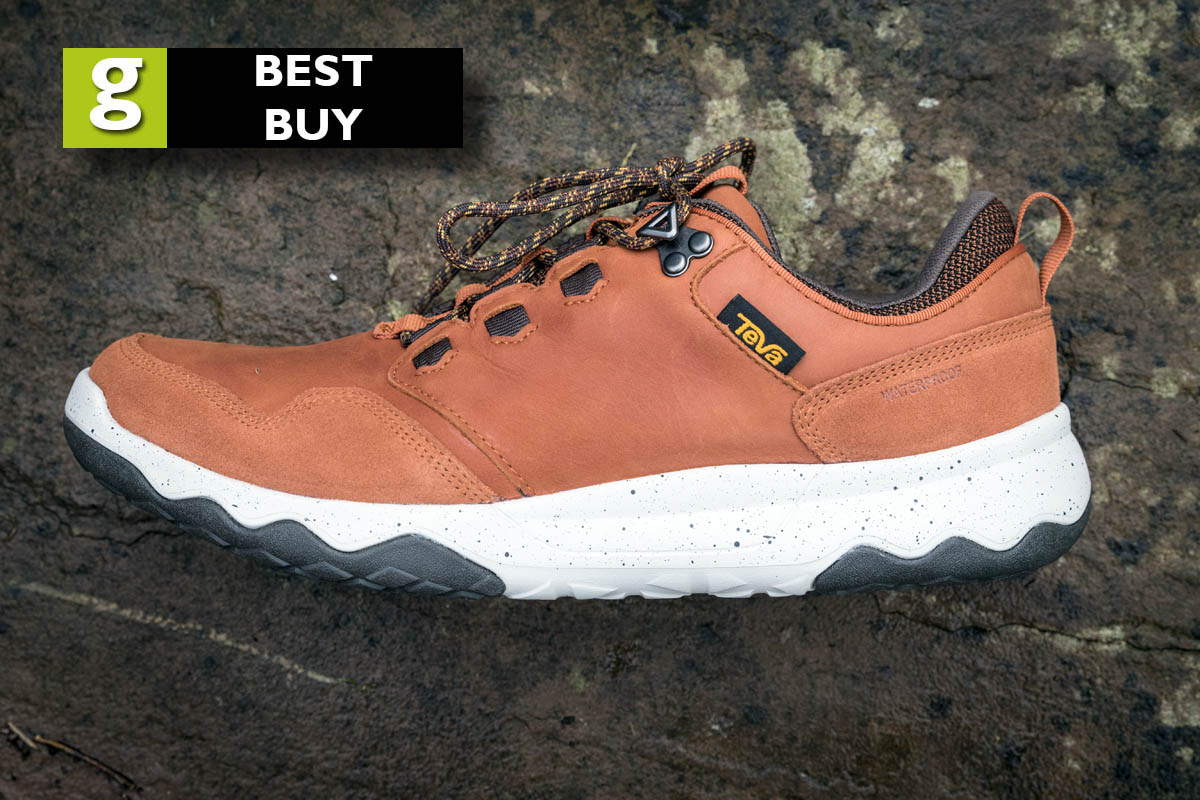 Teva Men S M Arrowood Lux Waterproof Hiking Shoe Cognac