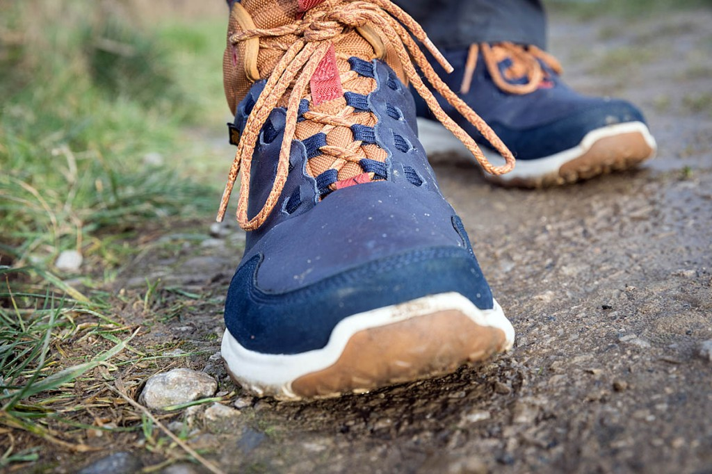The Teva boots are suitable for trail walking. Photo: Bob Smith/grough