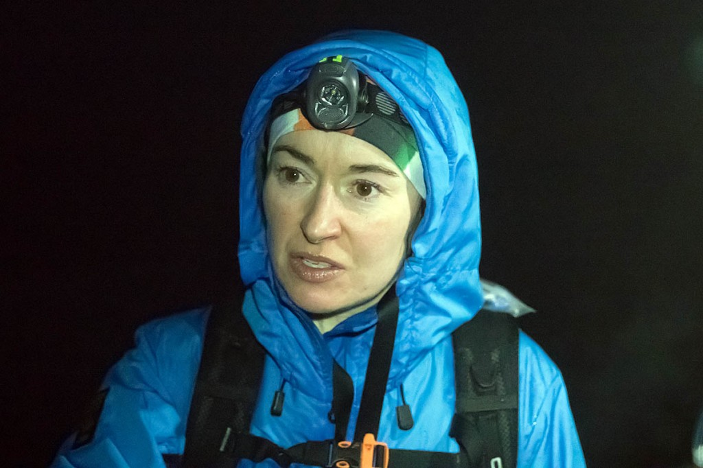Carol Morgan smashed the women's record in last year's Montane Spine Race. Photo: Bob Smith/grough