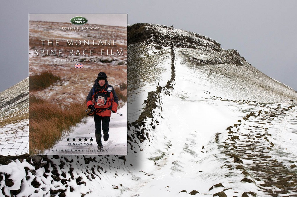 The Spine Race Film tells the tale of the brutal event along the Pennines in winter