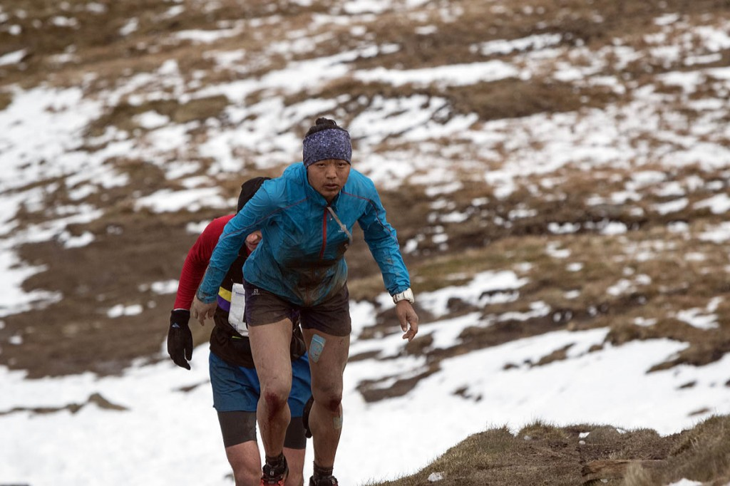 Nepalese runner Mira Rai