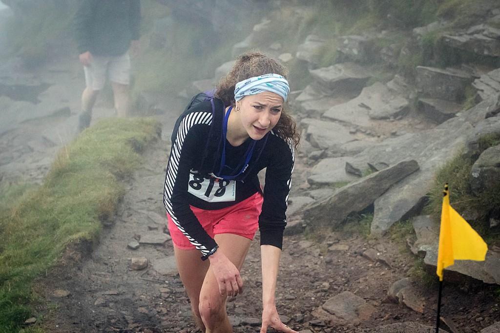 Rose Mather won the women's race. Photo: Bob Smith/grough