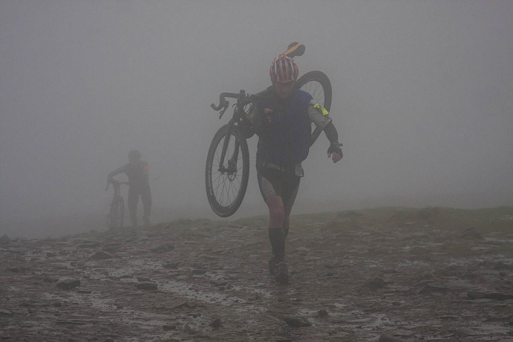 The 3 Peaks Cyclo-Cross Race also visits each summit. Photo: Bob Smith/grough
