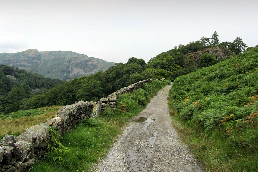 The Tilberthwaite Road track in the Lake District. Photo: Chris Heaton CC-BY-SA-2.0