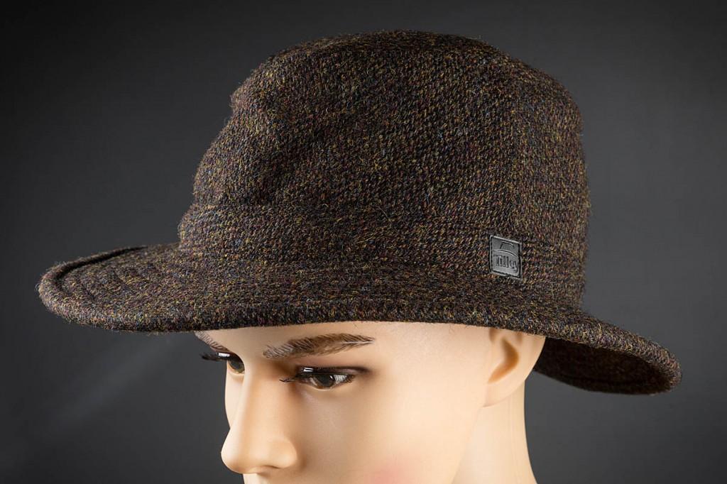 Tilley Harris Tweed Winter Hat. Photo: Bob Smith/grough
