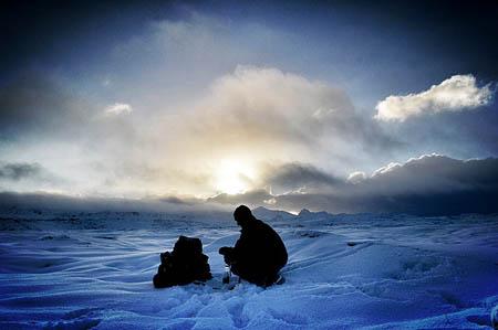 Tim Williamson's trek plans have been put on ice