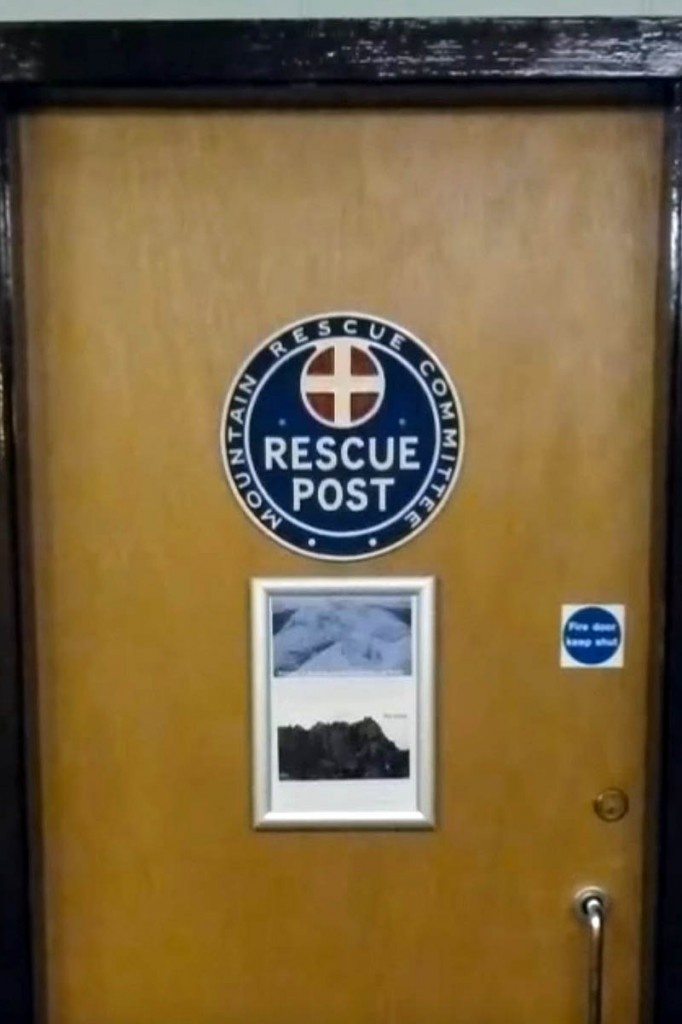 Torridon MRT is currently based in a cupboard at a Youth Hostel. Photo: Torridon MRT
