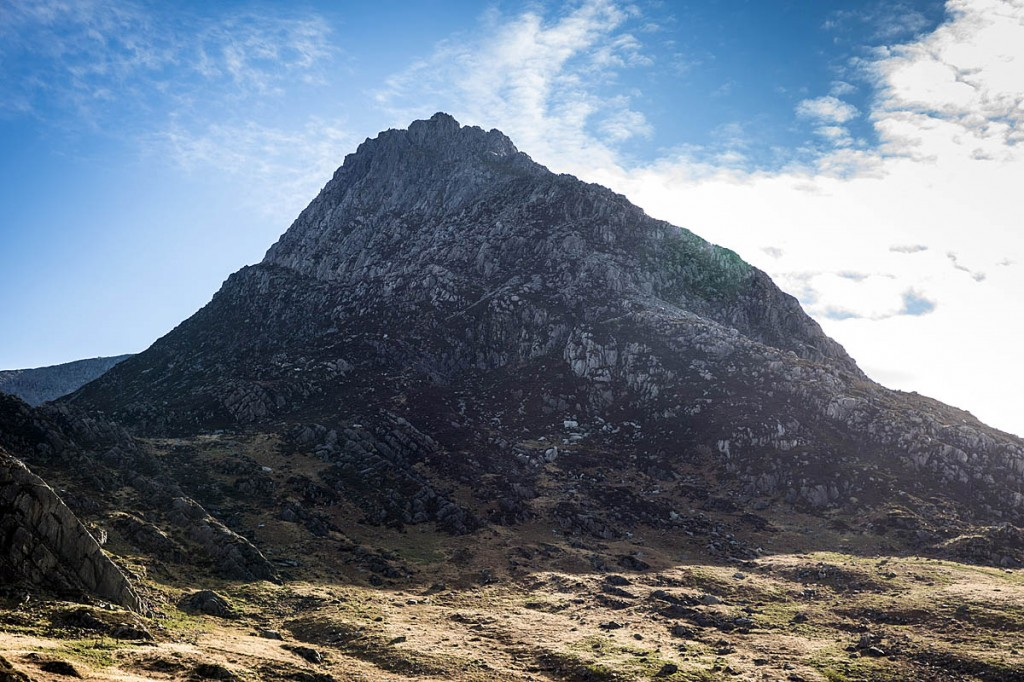 The man died after falling on the East Face of Tryfan. Photo: Bob Smith/grough