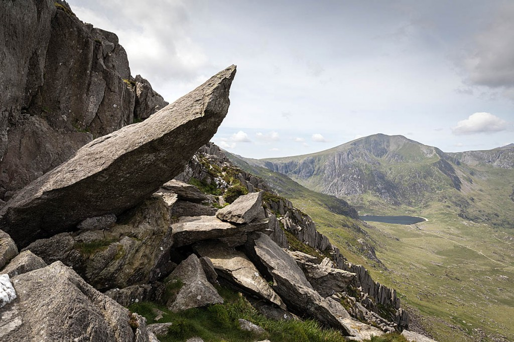 One of the incidents happened near the Canon Rock on Tryfan. Photo: Bob Smith/grough