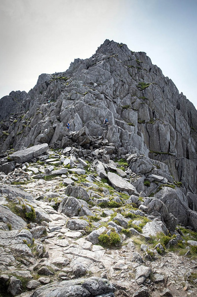 The incident happened on the North Ridge of Tryfan. Photo: Bob Smith/grough