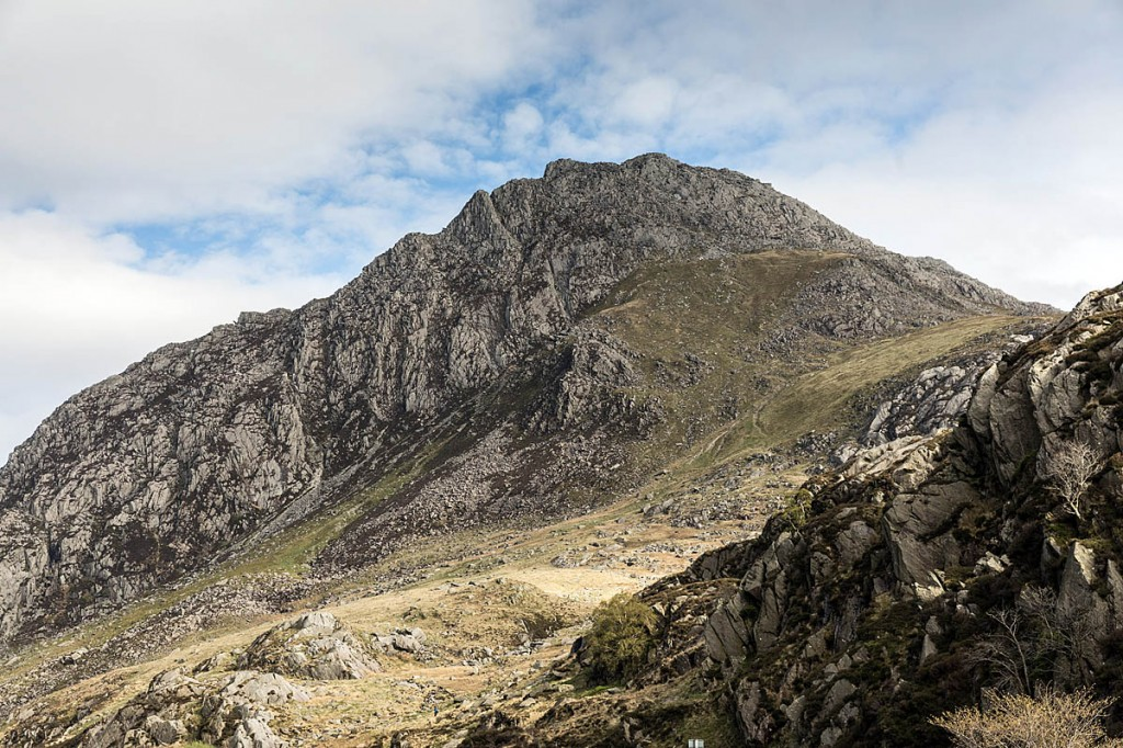 The man's body was found below the west face of Tryfan. Photo: Bob Smith/grough