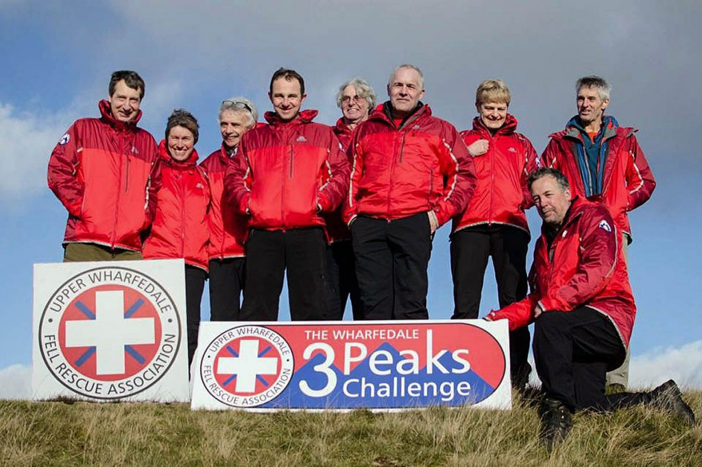 Upper Wharfedale team members will marshal the challenge