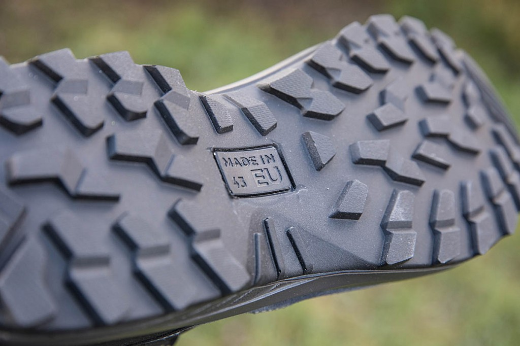 The Vango outsole. Photo: Bob Smith/grough