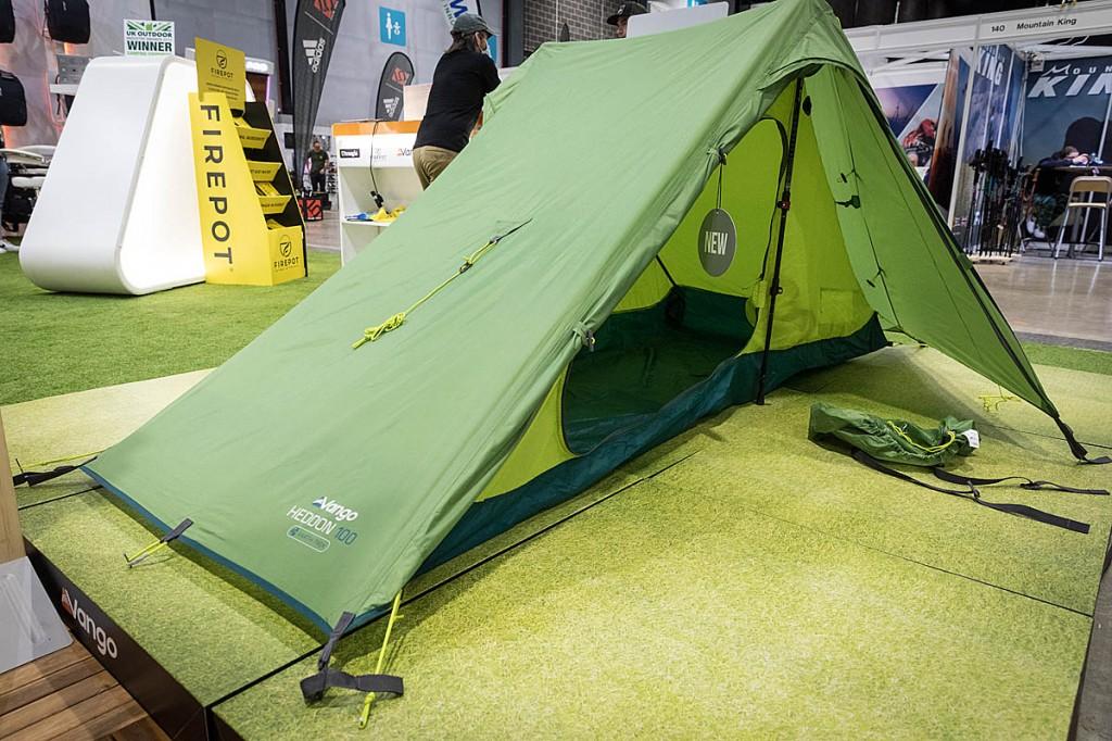 The Vango Heddon 100 tent. Photo: Bob Smith/grough