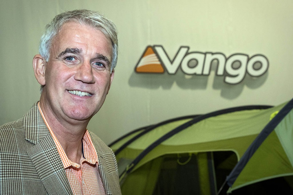 Steve Newlands, chief executive of Vango distributors AMG Group. Photo: Bob Smith/grough
