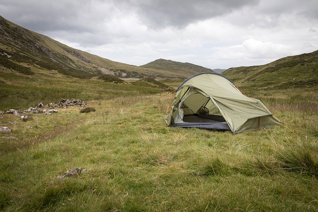 The Cairngorm 200 enables entry-level lightweight camping. Photo: Bob Smith/grough