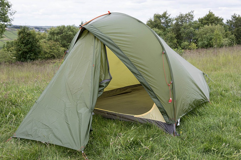 Vaude Taurus UL 2P. Photo: Bob Smith/grough