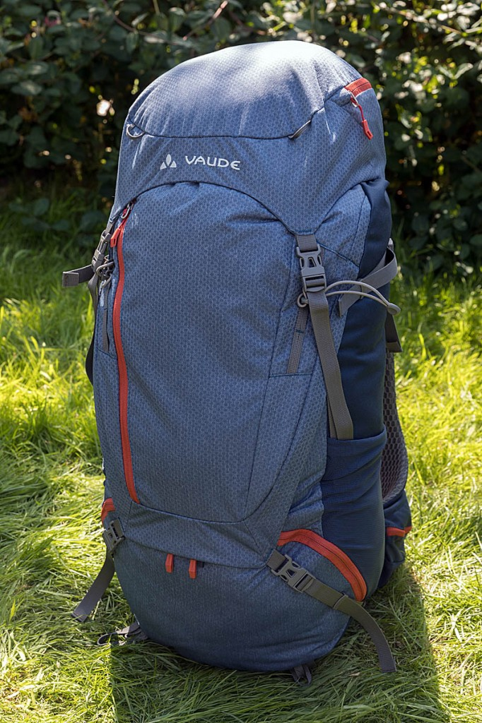 Vaude Asymmetric 52+8. Photo: Bob Smith/grough