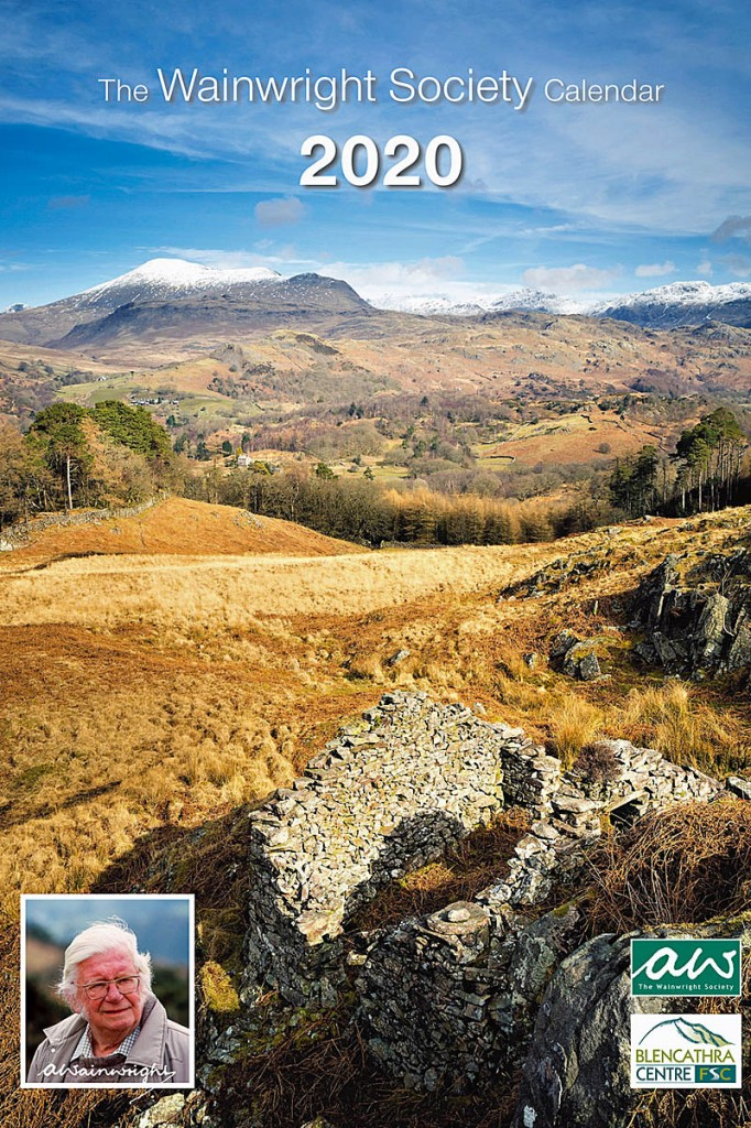 The Wainwright Society's 2020 calendar cover