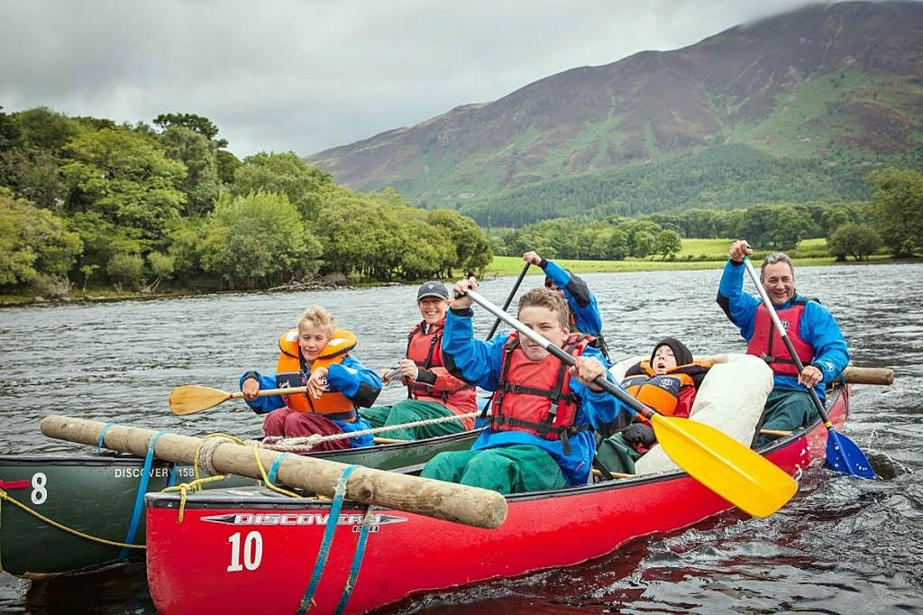 The trust's motto is: challenging disability through outdoor adventure