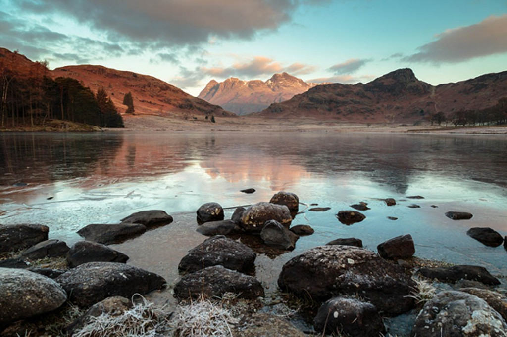 The winning picture of Blea Tarn and the Langdale Pikes. Photo: David Felton