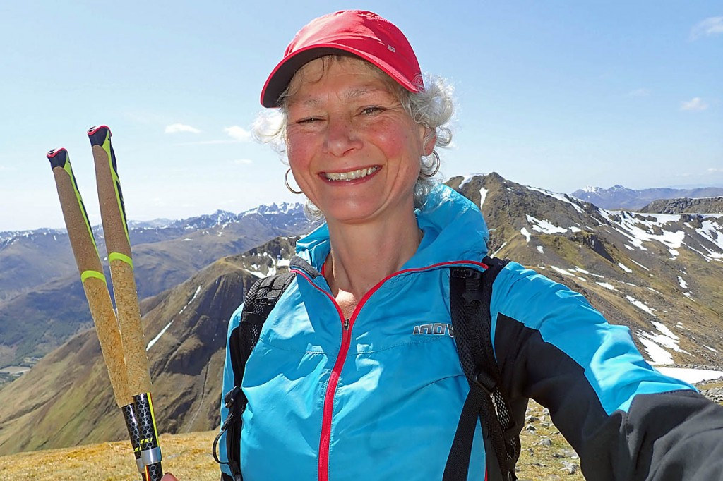 Nicky Spinks has run herself into the record books. Photo: Nicky Spinks