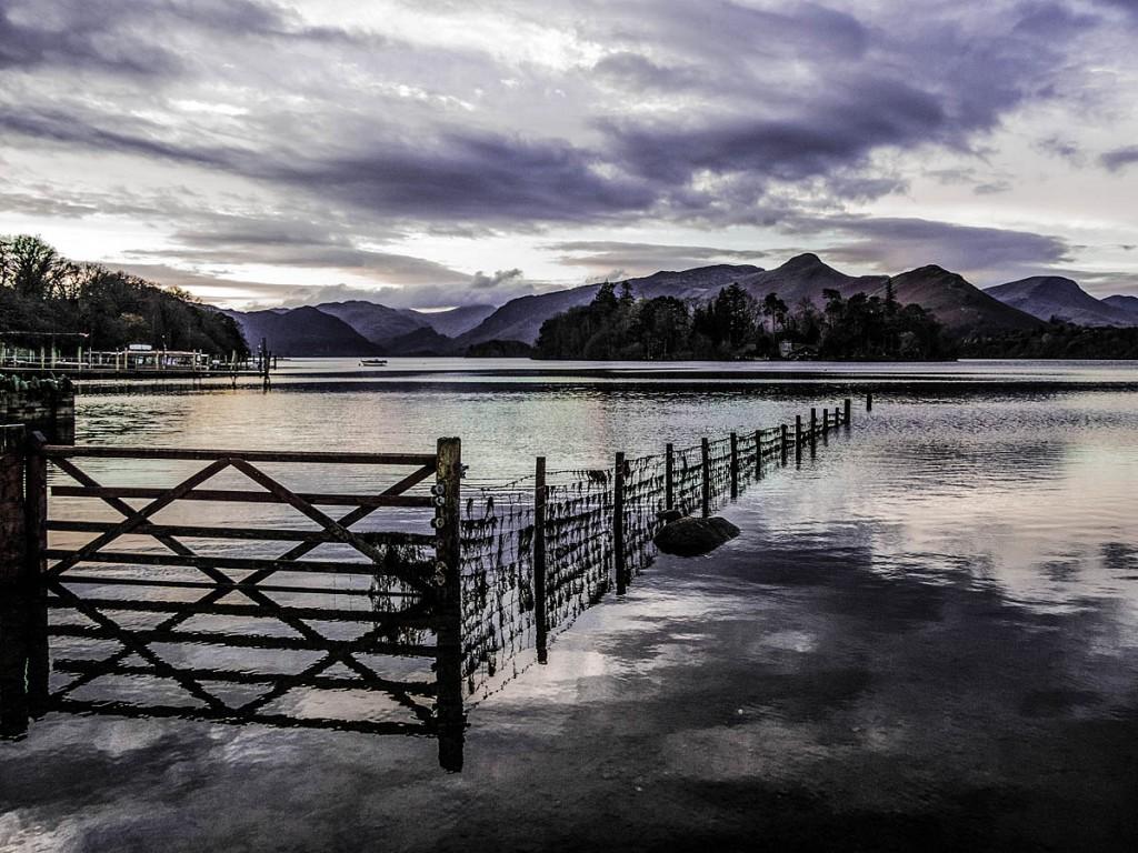 Ed Hamblett's shot of Derwent Water won the open category