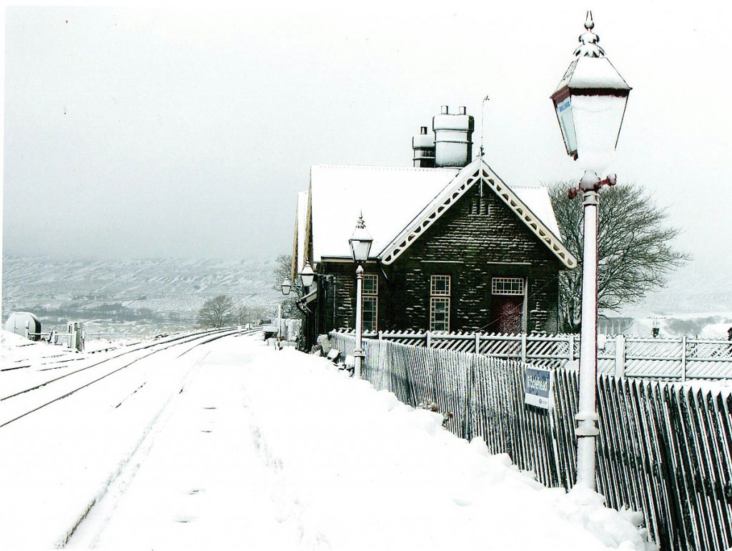 The winning picture of Ribblehead station. Photo: Pat Arrowsmith