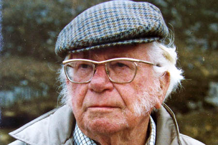 Alfred Wainwright was a supporter of the animal sanctuary. Photo: Wainwright estate