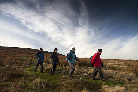 The festival takes place in the moorland and hills of the South Pennines. Photo: Steve Morgan