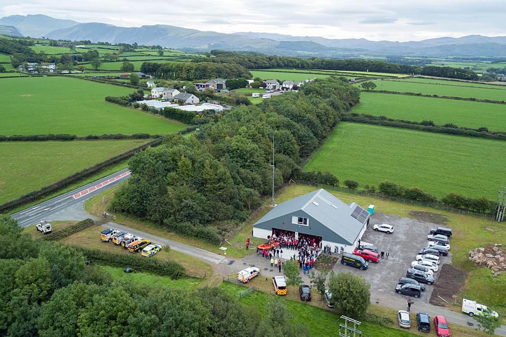 The new base near Gosforth. Photo: Adamedia