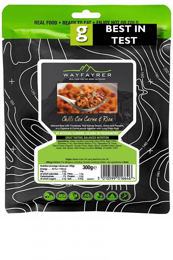 Wayfayrer Chilli con Carne with Rice