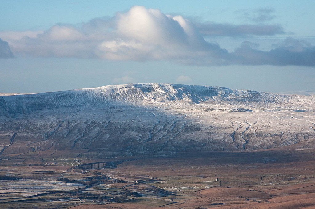 The walker called for help from the summit of Whernside. Photo: Bob Smith/grough
