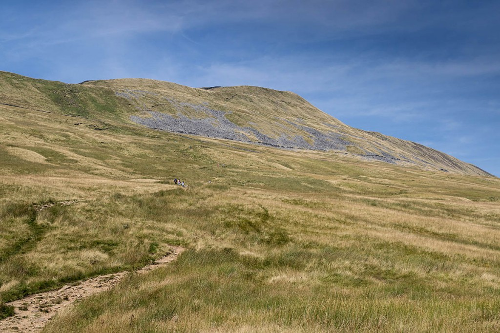 The Bruntscar path on Whernside. Photo: Bob Smith/grough