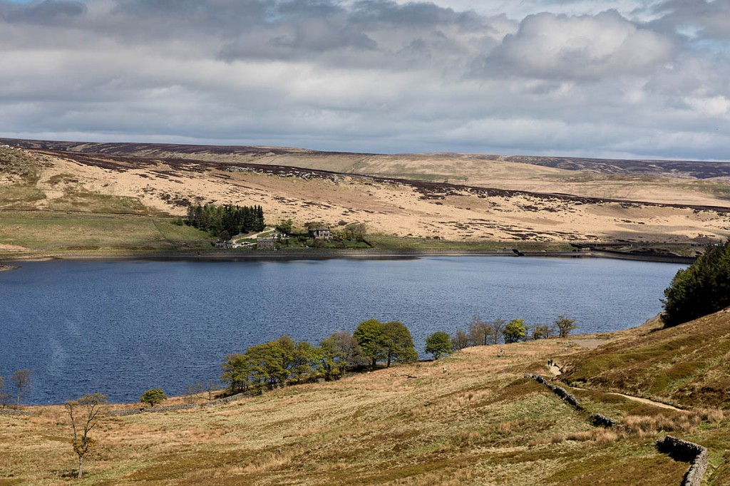 Widdop Reservoir, scene of one of the incidents. Photo: Bob Smith/grough