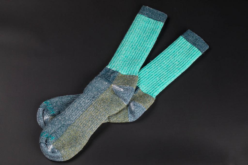 Wigwam Aldan Crew socks. Photo: Bob Smith/grough