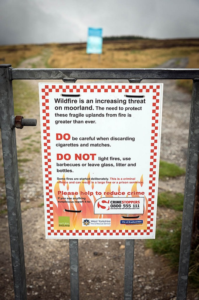 Moors are at increased fire risk, the association said. Photo: Bob Smith/grough