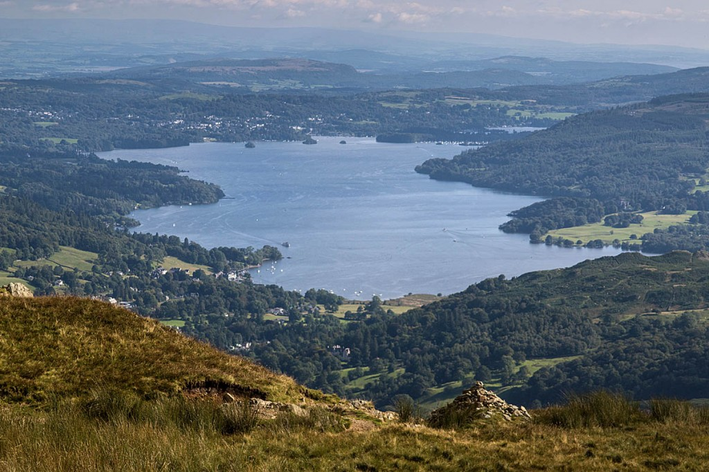 The race involves a 45-mile circuit of Windermere. Photo: Bob Smith/grough