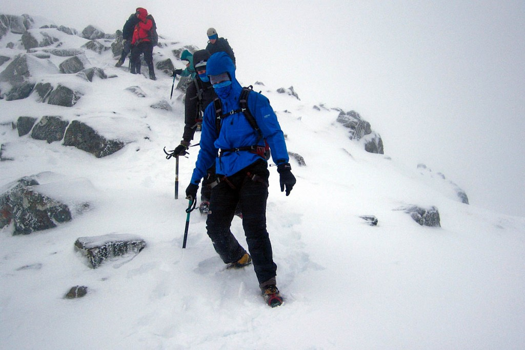 Walkers and climbers heading for the hills should leave route details. Photo: MCofS