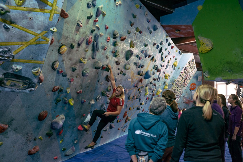 Last year's Women's Climbing Symposium