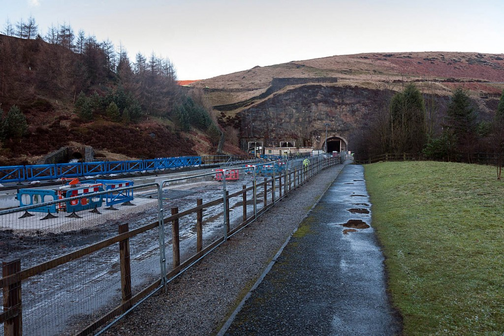 National Grid has carried out major works at the tunnels site. Photo: Bob Smith/grough