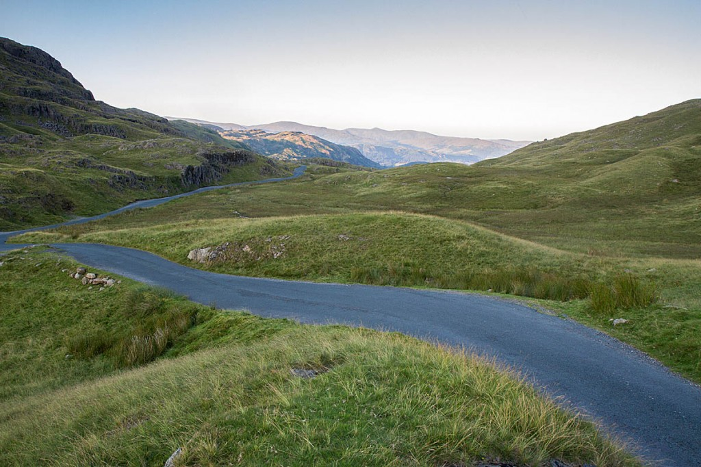 The cyclist died on the Wrynose Pass. Photo: Bob Smith/grough