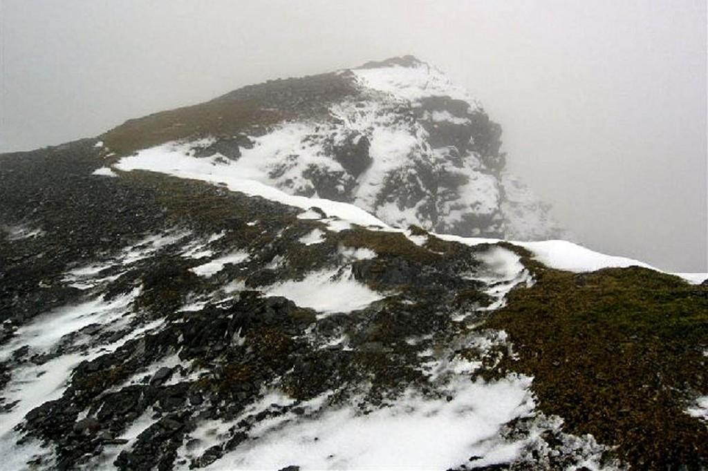 The summit of Y Garn. Photo: David Crocker CC-BY-SA-2.0
