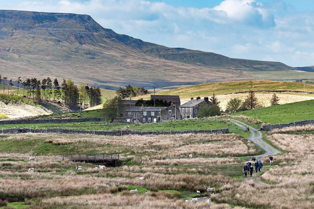 Walkers in Mallerstang, which became part of the Yorkshire Dales national park last year. Photo: Yorkshire Dales NPA