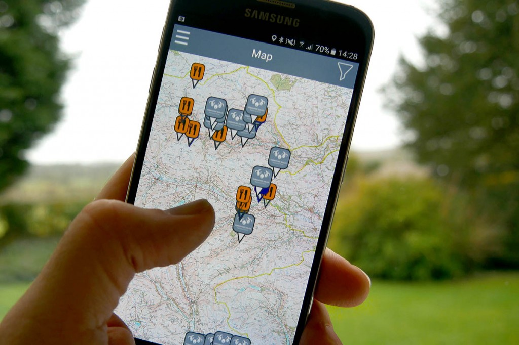 The new app enables walkers to trace the Dales' mining history. Photo: Yorkshire Dales NPA