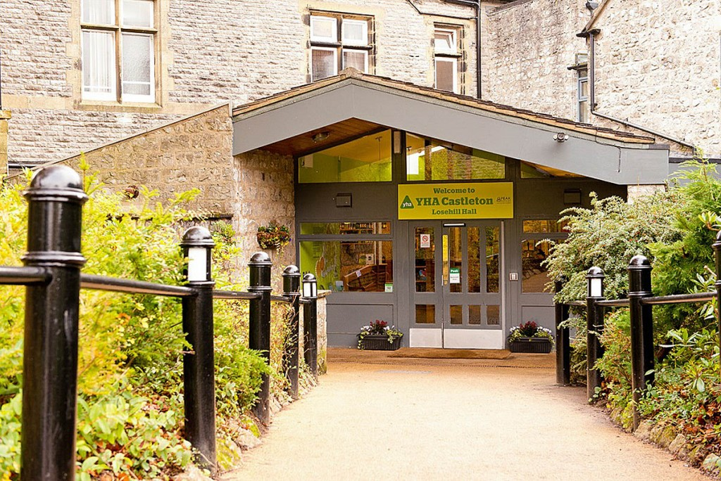 YHA Castleton at Loosehill Hall in the Peak District is one of the hostels re-opening